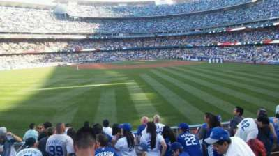 Dodger Stadium section 311/313