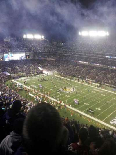 M&T Bank Stadium, section: 548, row: 23, seat: 5