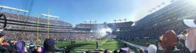 M&T Bank Stadium, section: 138, row: 5, seat: 15