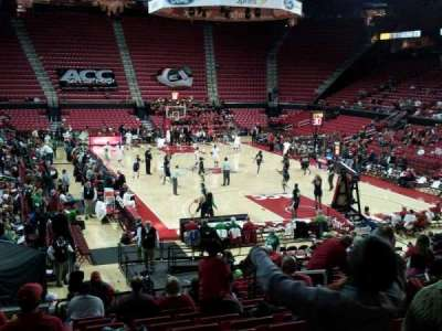 Xfinity Center (Maryland), section: 106