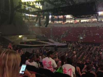 KFC Yum! Center, section: 116, row: Q, seat: 3