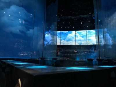 Love Theatre - The Mirage, section: 108, row: B, seat: 17
