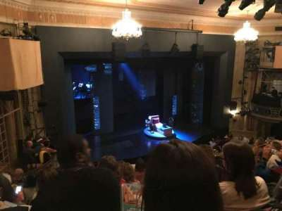 Music Box Theatre, section: MEZZO, row: H, seat: 19