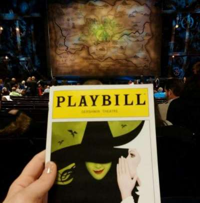 Gershwin Theatre, section: Orchestra C, row: S, seat: 107