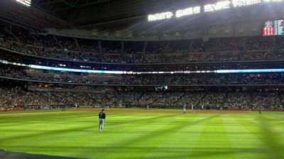 Minute Maid Park, section: 154, row: 1, seat: 5