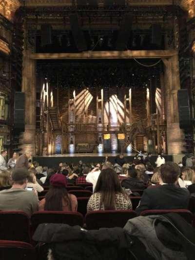 CIBC Theatre, section: Orchestra Center, row: T, seat: 108