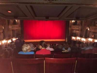 Theatre Royal, section: Royal Circle, row: L, seat: 26