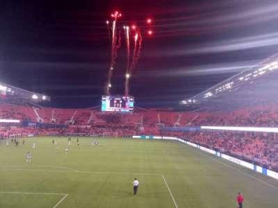 BBVA Stadium section 123