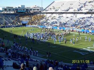 Kroger Field, section: 135, row: 49, seat: 14