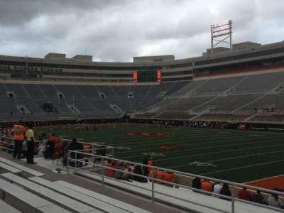 Boone Pickens Stadium, section: 201, row: 7, seat: 3