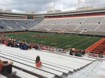 Boone Pickens Stadium, section: 201, row: 27, seat: 24