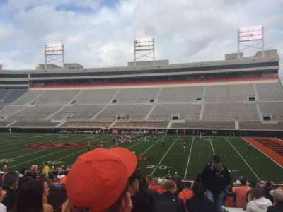 Boone Pickens Stadium, section: 203, row: 19, seat: 1