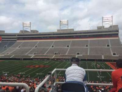 Boone Pickens Stadium, section: 303, row: 1, seat: 9