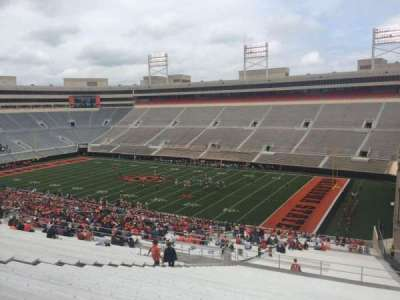 Boone Pickens Stadium, section: 301, row: 30, seat: 10