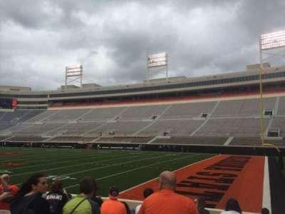 Boone Pickens Stadium, section: 101, row: 10, seat: 20
