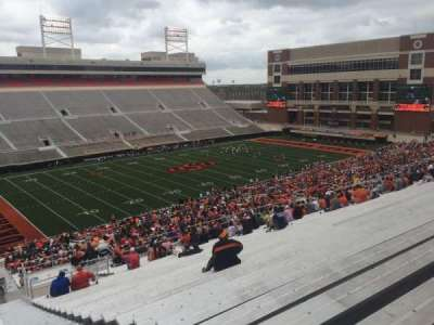 Boone Pickens Stadium, section: 310, row: 30, seat: 1