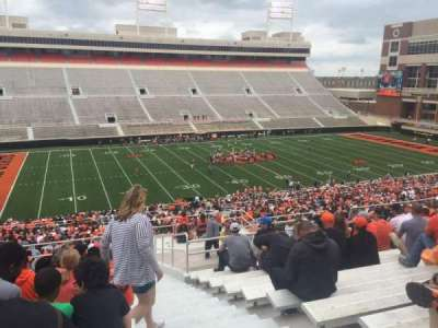 Boone Pickens Stadium, section: 309, row: 19, seat: 1
