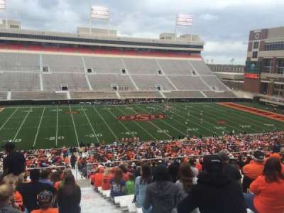 Boone Pickens Stadium, section: 308, row: 19, seat: 1