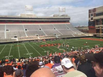 Boone Pickens Stadium, section: 207, row: 29, seat: 25