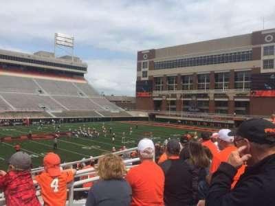 Boone Pickens Stadium, section: 208, row: 12, seat: 1