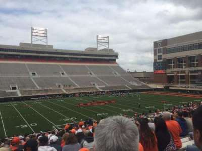 Boone Pickens Stadium, section: 207, row: 23, seat: 20