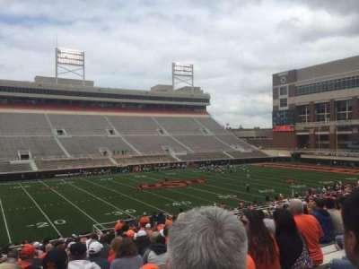 Boone Pickens Stadium, section: 207, row: 23, seat: 20