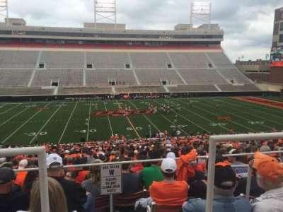 Boone Pickens Stadium, section: 206, row: 1, seat: 15