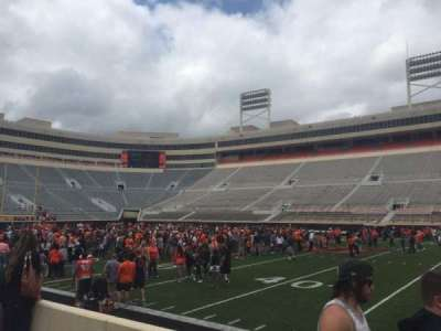 Boone Pickens Stadium, section: 104, row: 4, seat: 15