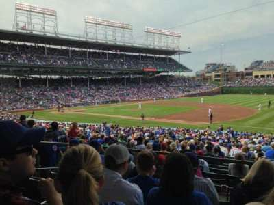 Wrigley Field section 227