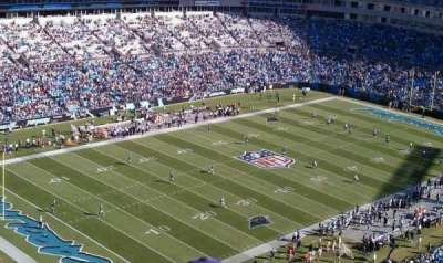 Bank of America Stadium section 551