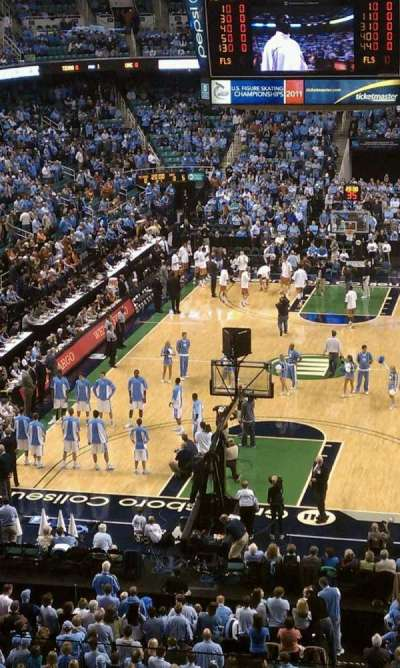 Greensboro Coliseum, section: 201