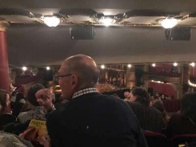 PrivateBank Theatre, section: Dress Circle LC, row: G, seat: 233