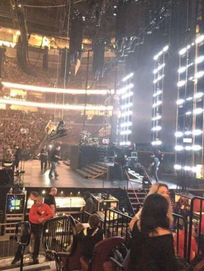 Wells Fargo Center, section: 115, row: 8, seat: 14-16