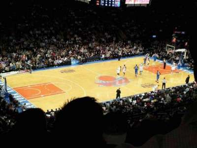 Madison Square Garden, section: 208, row: 12, seat: 18