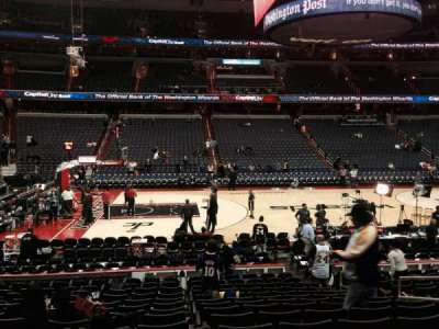 Verizon Center, section: 121, row: O, seat: 15