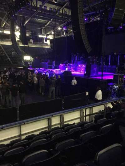 ShoWare Center, section: 103, row: 6, seat: 5