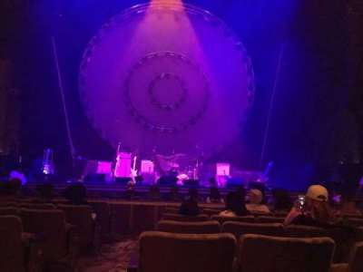 The Paramount Theatre, section: Orchestra, row: G, seat: 2