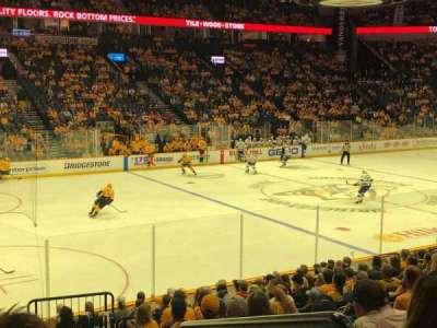 Bridgestone Arena, section: 103, row: E, seat: 1
