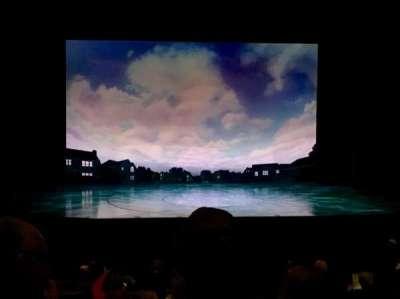 La Jolla Playhouse, row: O, seat: 25