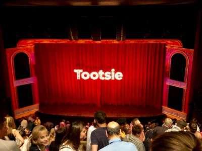 Marquis Theatre, section: Mezzanine C, row: H, seat: 114