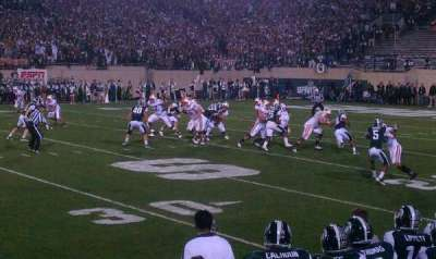 Spartan Stadium section 23