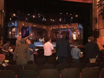 Bernard B. Jacobs Theatre, section: ORCH, row: L, seat: 113