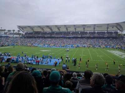 StubHub Center, section: 109, row: Z, seat: 10