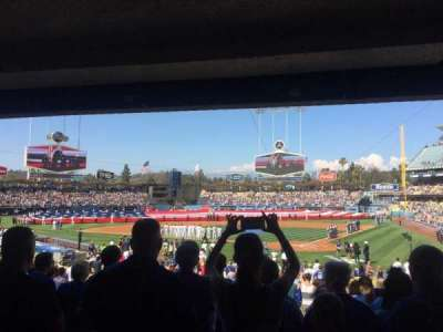 Dodger Stadium section 5fd