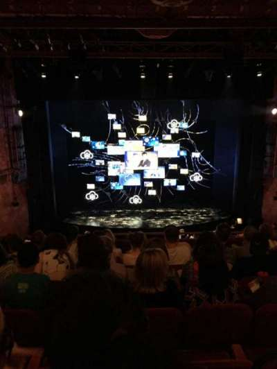 August Wilson Theatre, section: Mezz C, row: G, seat: 111