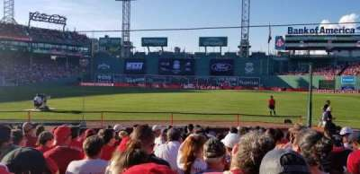 Fenway Park section Field Box 11