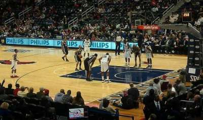 Philips Arena, section: 101, row: Q, seat: 13