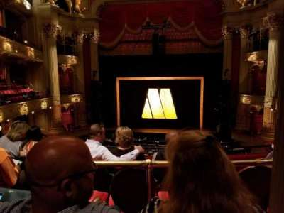 Academy of Music, section: E, row: B, seat: 105