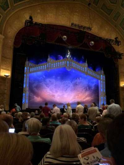 Detroit Opera House, section: MNFL3, row: R, seat: 115