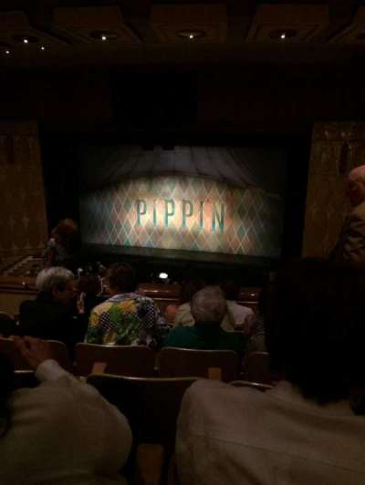 Fisher Theatre, section: BRCTR1, row: J, seat: 120